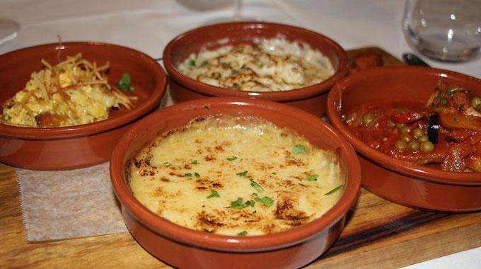 Degustación Menú Portugués Mila Restaurante