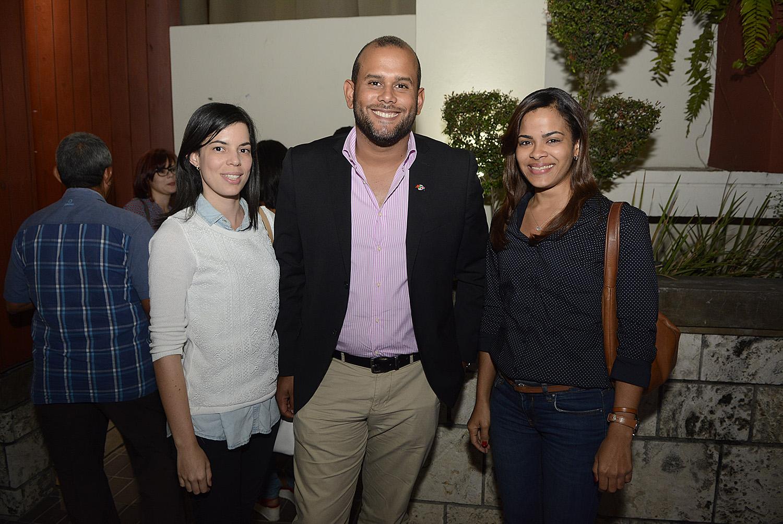 Sally Cedano, Victor Rosario Y Johanna Rodriguez