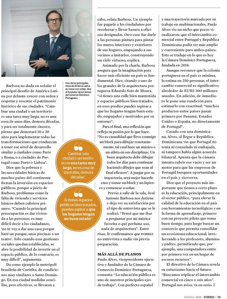 Forbes Paulo Alves