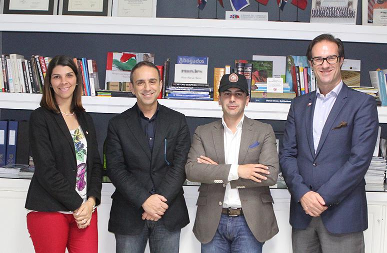 Candice Cestero, Pedro Rebello, Daniel Silva Y Paulo Alves