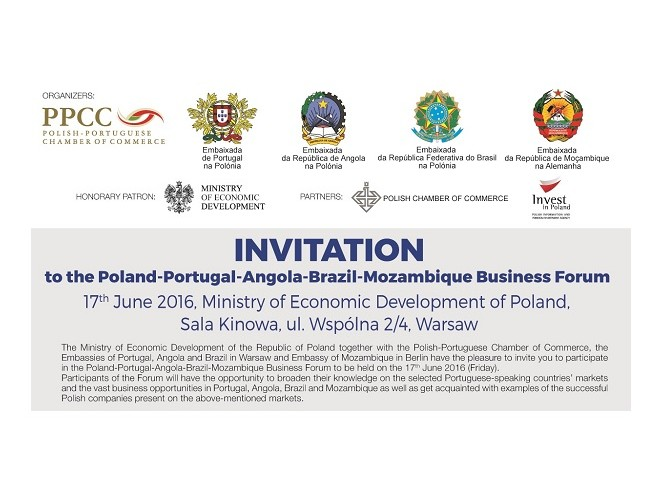 Forum Polska-Portugalia-Angola-Brazylia-Mozambik *17.06.2016*