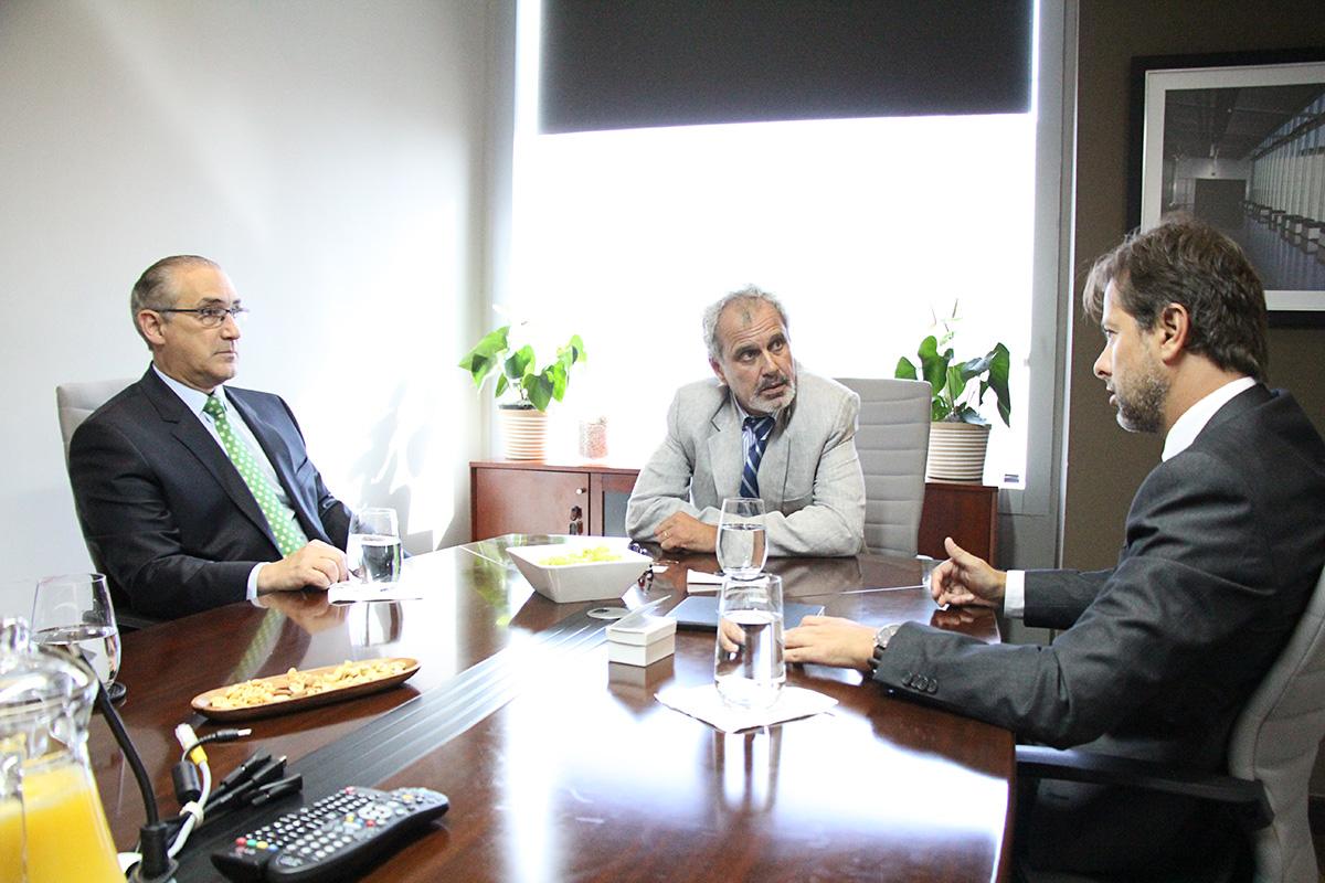 Bruno Cid, Mario Lama, Jorge Oliveira Exmo. Embajador De Portugal Para RD