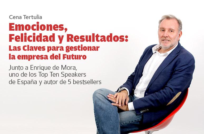 Enrique De Mora Tertulia Emociones, Felicidad Y Resultados