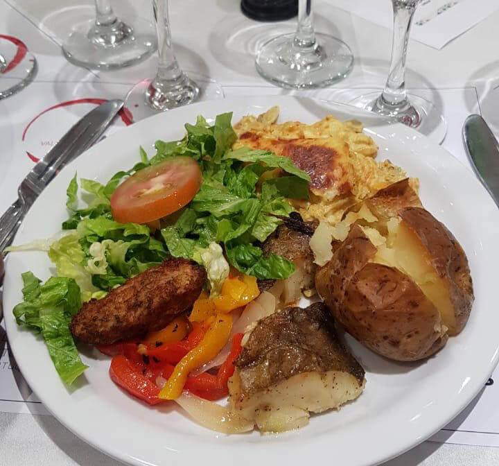 degustación de platos típicos portugueses