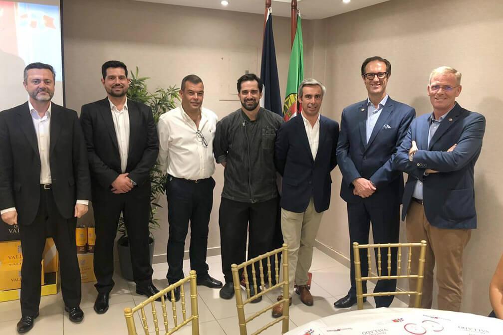 Cámara Dominico Portuguesa Celebra Degustación De Platos Típicos De Su Gastronomía Local Con El Chef Joel Marques