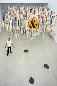 Una de las obras de la muestra Plant Revolution, expuesta hasta el próximo 16 de febrero en el museo CIAJG. ANDRÉS CAMPOS