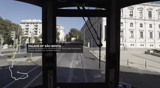 Un Paseo En El Tranvía De Lisboa… Desde El Sofá